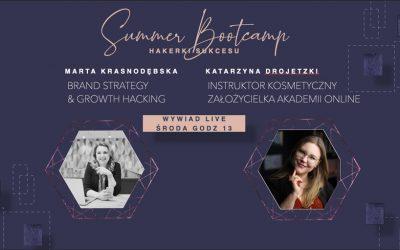 Brand Strategy & Growth Hacking – wywiad z Katarzyną Drojetzki